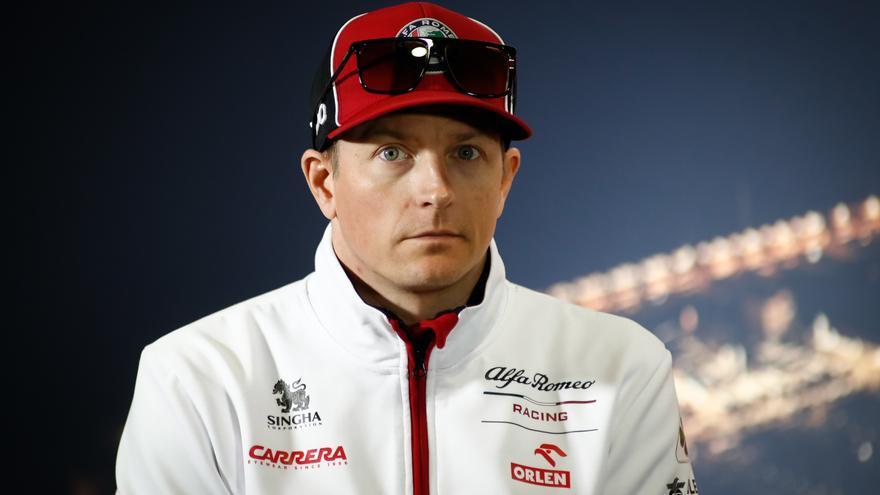 «Räikkönen iba de lado a lado. Absolutamente mamado»