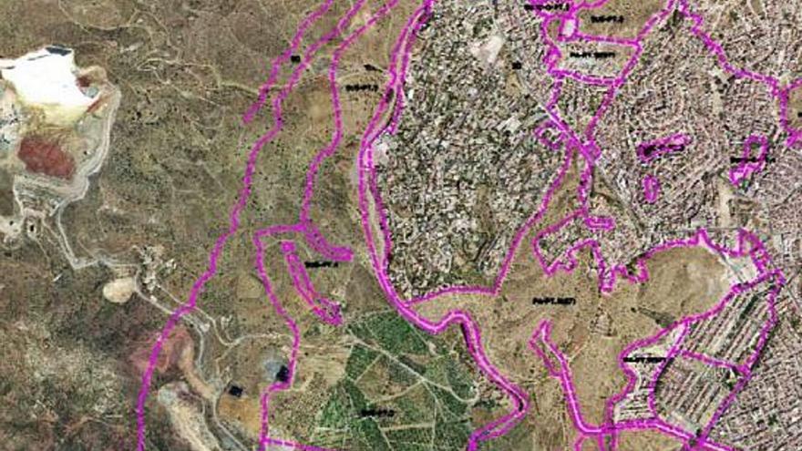 Avanza el trámite para que Lagar de Oliveros acoja un barrio de 4.700 viviendas