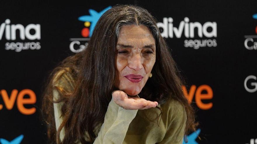 """Ángela Molina: """"Adoro la juventud, pero no cambiaría el proceso de la vida por nada"""""""