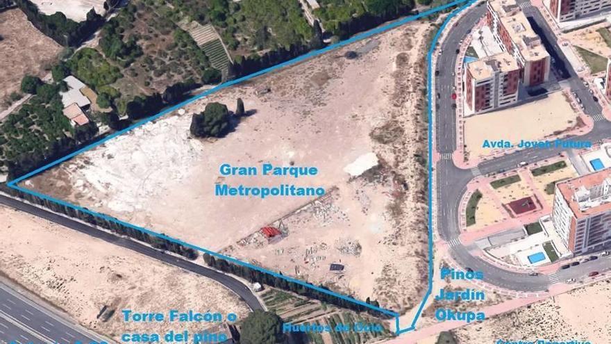 Espinardo contará con un gran jardín metropolitano de 30.000 metros