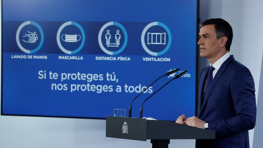 Sánchez prevé que a finales de agosto estén vacunados 33 millones de españoles