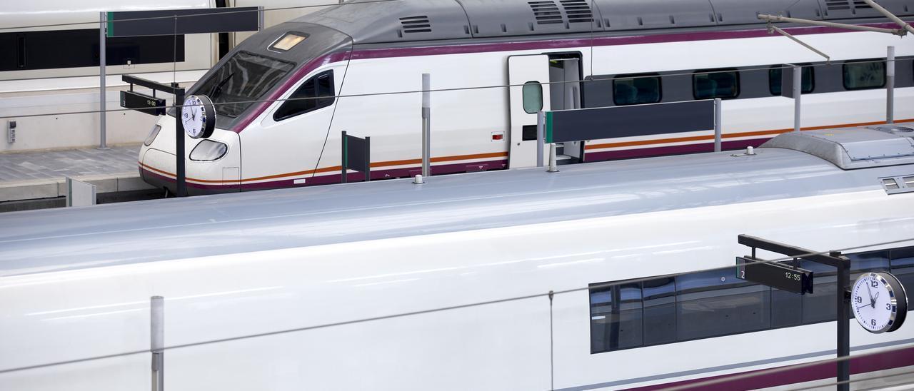 Plataformas de trenes de alta velocidad