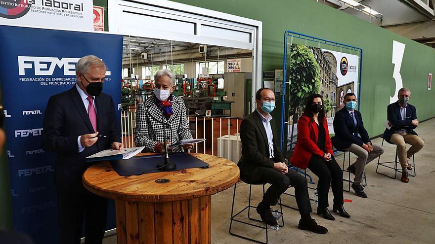 Femetal lidera una red de socios de la FP Industrial ante la escasez de profesionales