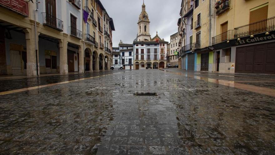 La actividad comercial de Xàtiva se desploma