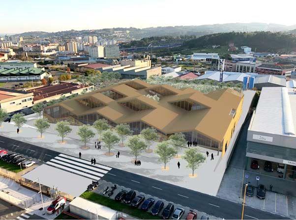La nueva sede de Hijos de Rivera tendrá huerto urbano, gimnasio y dos jardines interiores