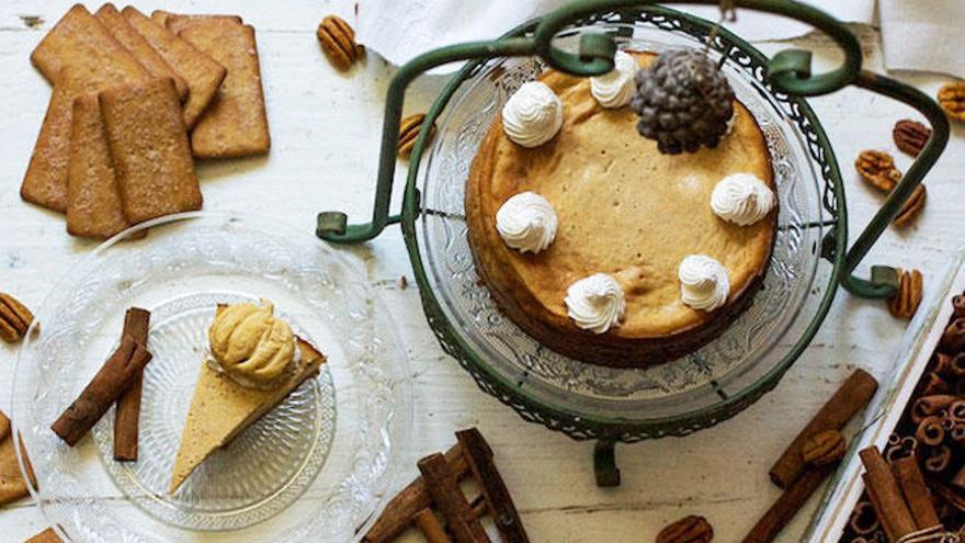 El postre ideal para este Halloween: tarta de queso y calabaza
