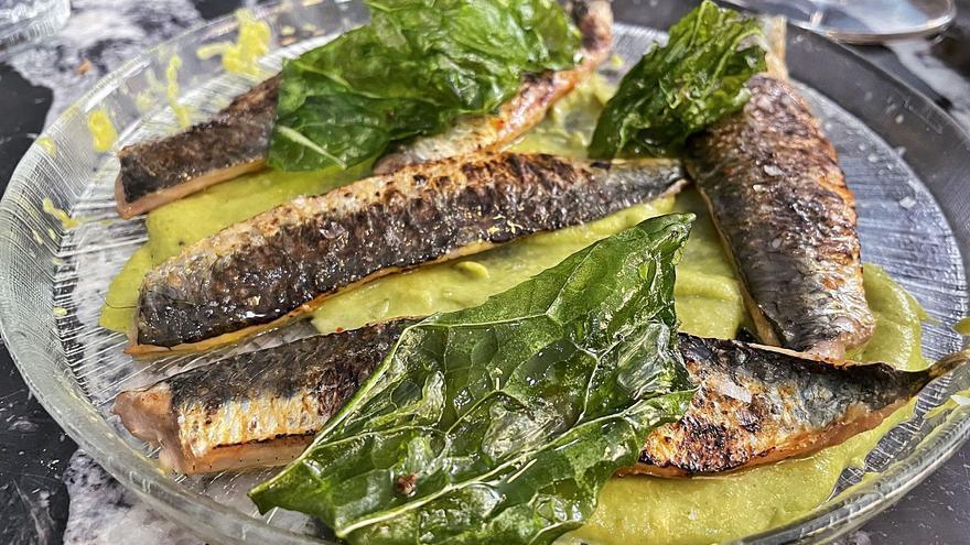 Cuando la sardina pringa el pan