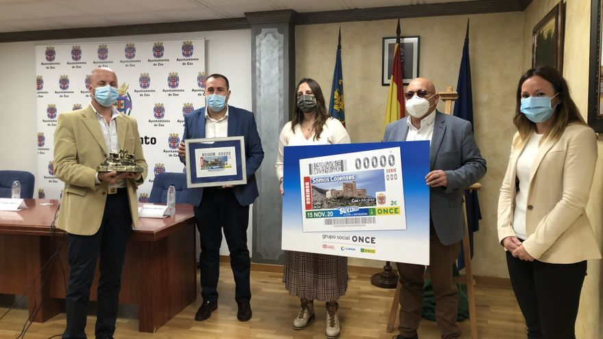 El Castillo Santa Bárbara de Cox recorrerá España gracias al cupón de la ONCE del próximo domingo