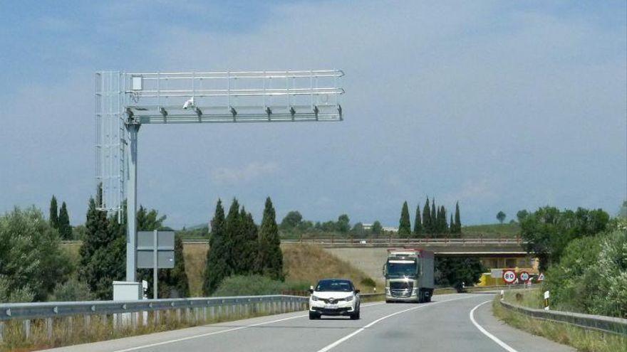 Els radars de tram de l'N-II de Figueres, sense data d'entrada en funcionament