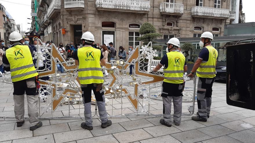 Ximenez Iluminación comienza los montajes de Navidad recuperando al 100% de su plantilla