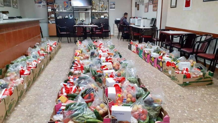 La demanda de ayuda y alimentos en Zaragoza no cesa a pesar de la recuperación económica