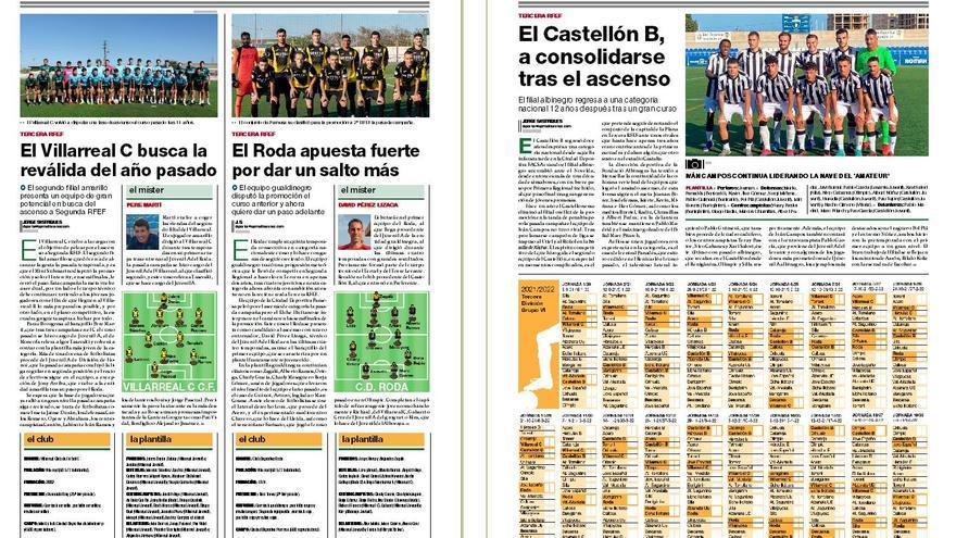 Consigue con 'Mediterráneo' el suplemento con toda la información sobre el fútbol provincial