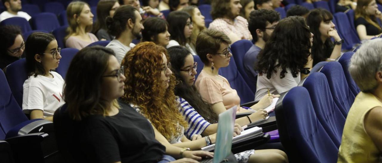 Un acto celebrado en el campus del Milán el pasado año.