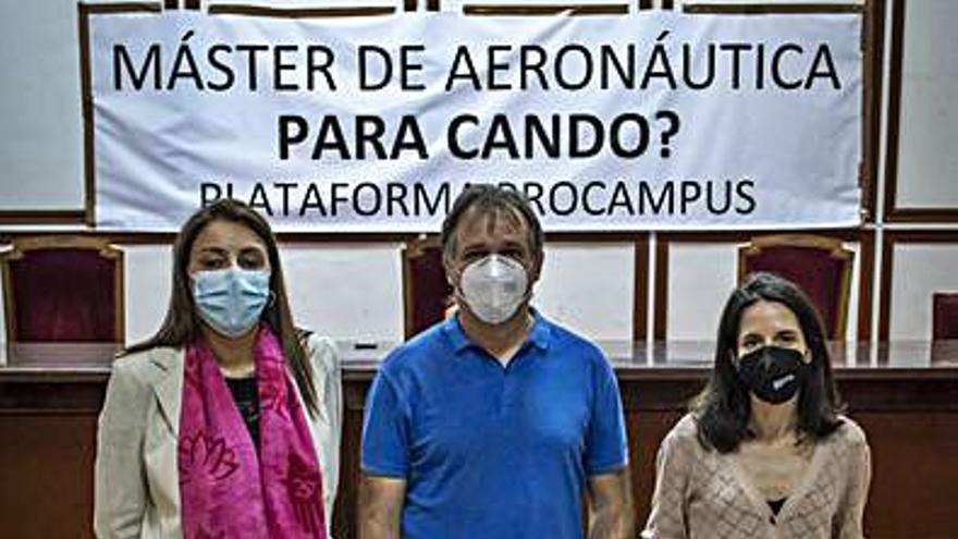 ProCampus pide la intervención de la Xunta en la tramitación de Aeronáutica