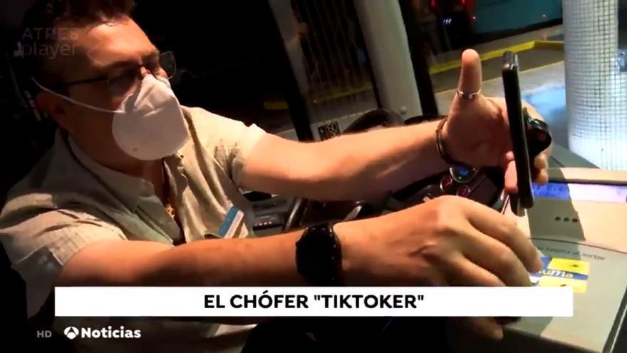 Eloy, el conductor 'tiktoker' de Global