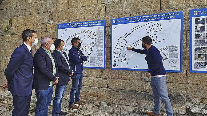 El Camino Real de Monterrei tendrá una mejora de accesibilidad en nueve meses