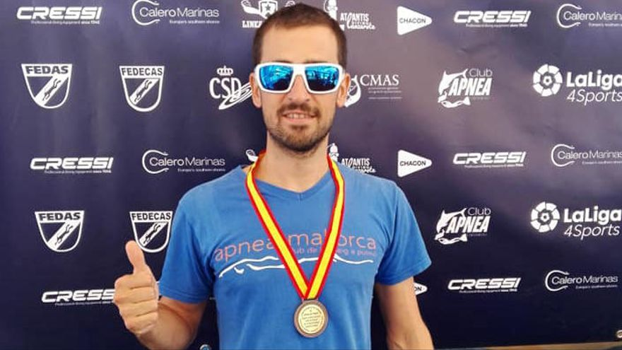El barranquista desaparecido en Mallorca es David Cabrera, campeón balear de apnea