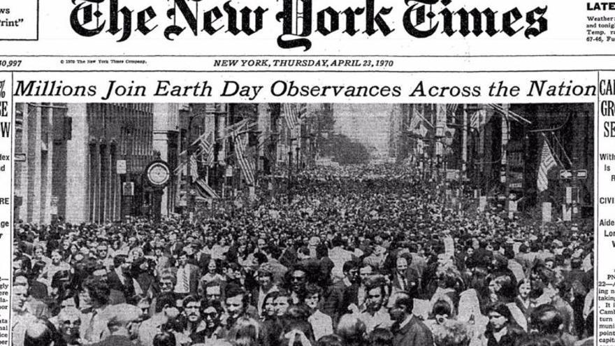 ¿Cuál fue el primer Día de la Tierra y por qué se celebra?