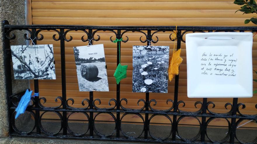 Los vecinos de Bermillo convierten sus calles en un museo de fotografía