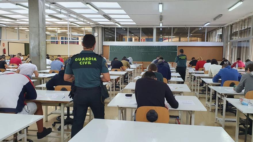 622 opositores en las pruebas de ingreso a la Guardia Civil en la provincia de Las Palmas