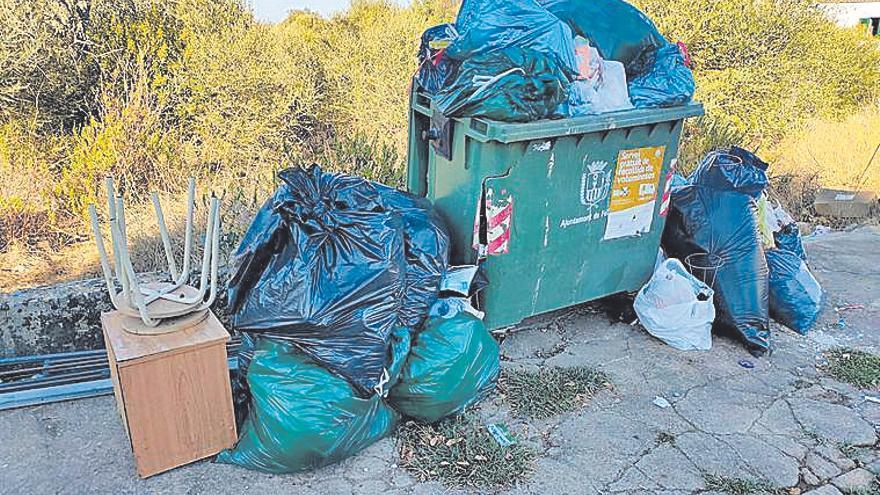 Cinco sanciones durante la campaña de residuos voluminosos en Felanitx