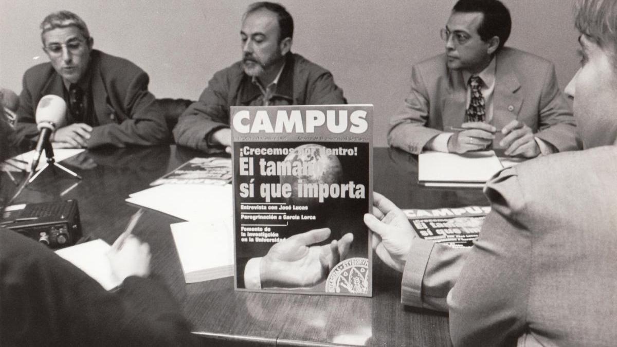 1999, la revista 'Campus' se convierte en decana de la prensa universitaria española