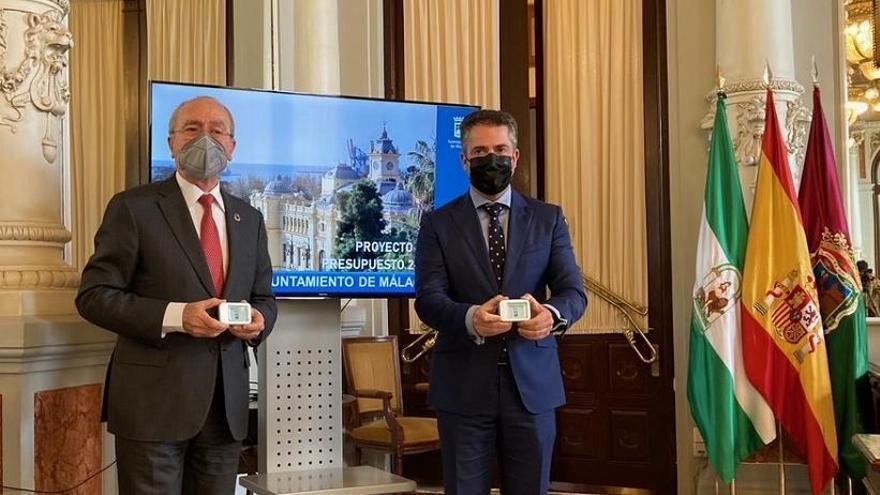 El presupuesto de Málaga de 2021 crece hasta casi los 900 millones, un 6,53% más