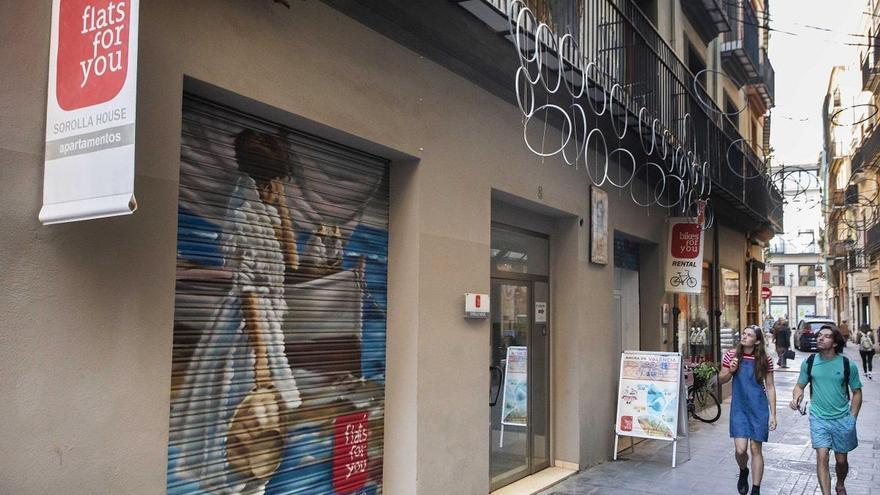 El 52 % de los pisos turísticos valencianos permanece vacío más de la mitad del año