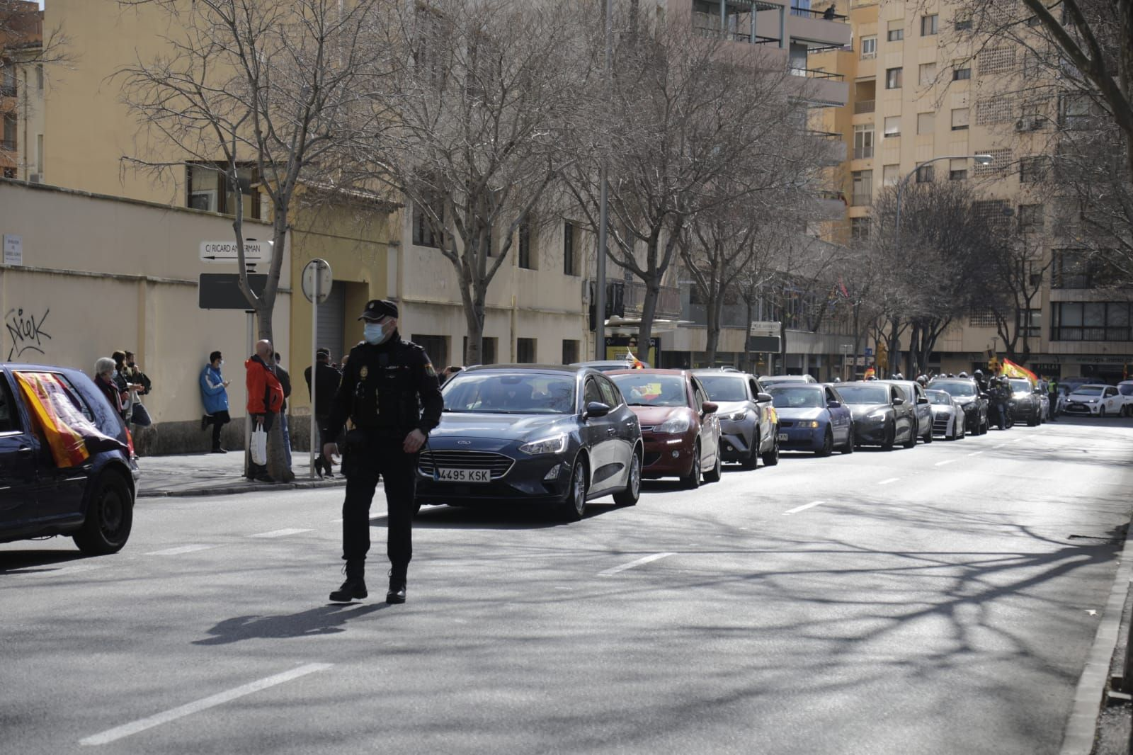 Manifestación del Foro Baleares