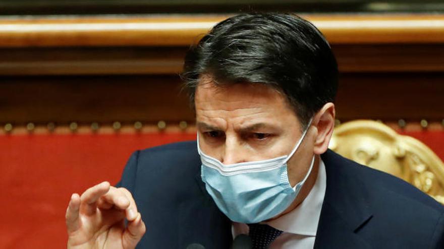 El primer ministro italiano, Giuseppe Conte, dimite por la fata de apoyos a su coalición en el Parlamento