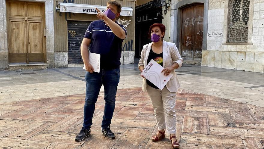 IU y Podemos piden trasladar los bares de copas del Centro al Cortijo de Torres