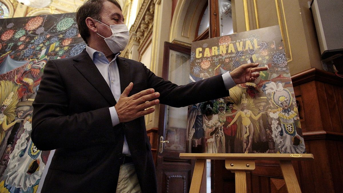 Santa Cruz de Tenerife ya tiene cartel para su Carnaval virtual de 2021