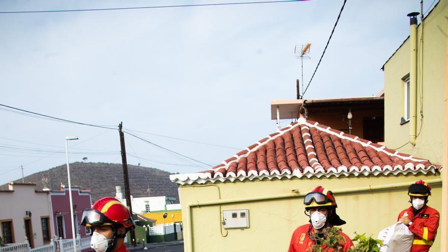 Autorizan la recogida de enseres a los vecinos evacuados anoche en Los Llanos de Aridane y Tazacorte