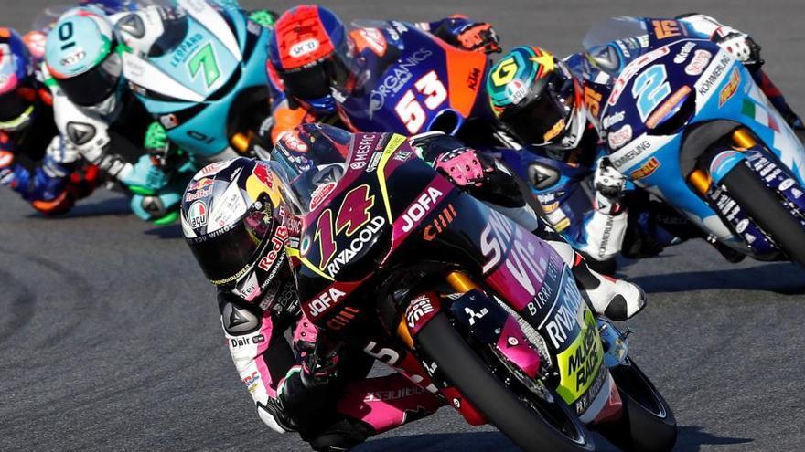 Tatsuki Suzuki, tercera 'pole' consecutiva en Moto3