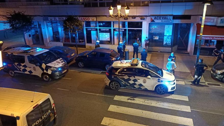 La Policía disuelve una multitudinaria pelea entre gitanos en Torrecedeira
