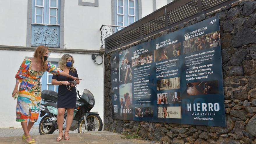 La serie 'Hierro'  ya cuenta con  su propia ruta turística en la  isla homónima