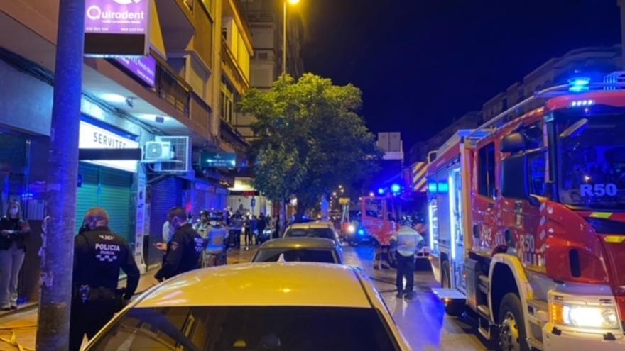 Alarma en Ronda Norte por un incendio en un quinto piso