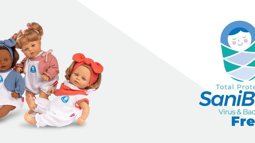 Berjuan lanza al mercado una muñeca que repele el coronavirus