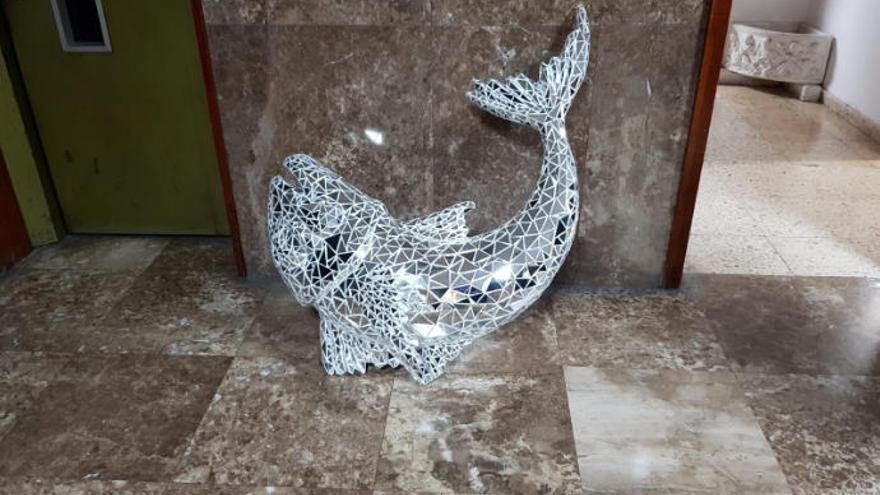 """El ladrón de una escultura de Santa Cruz pide perdón: """"Iba muy alcoholizado"""""""
