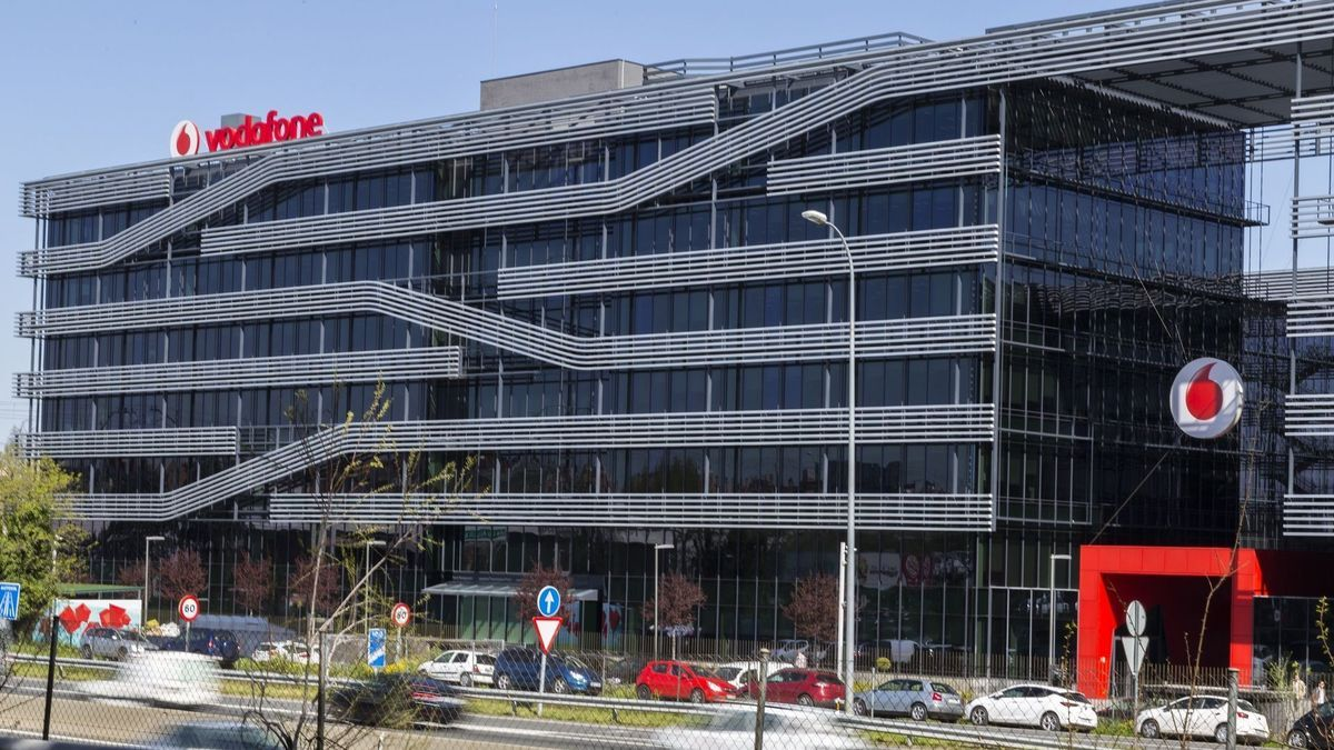 La sede de Vodafone en Madrid.