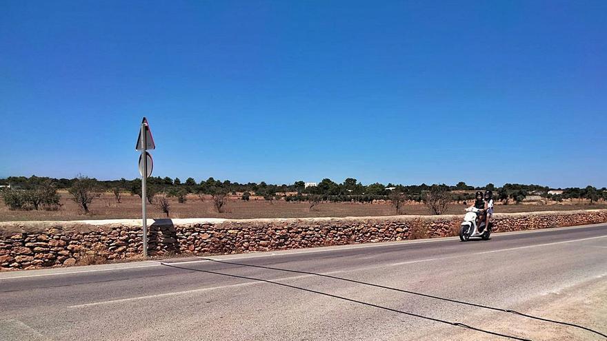 Formentera inicia una campaña para conocer el aforo de la red viaria