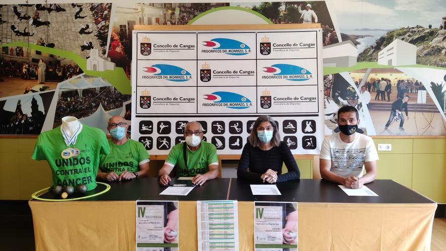 AECC Cangas organiza un campeonato de petanca solidario para luchar contra el cáncer