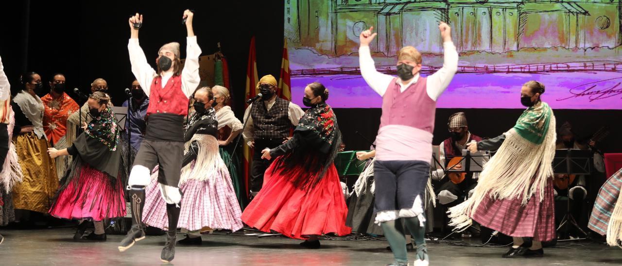 Festival de Jotas en el Gran Teatro de Elche.