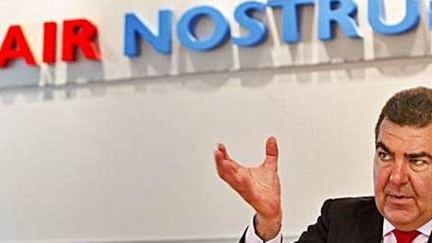 Air Nostrum anuncia que retoma los vuelos interislas