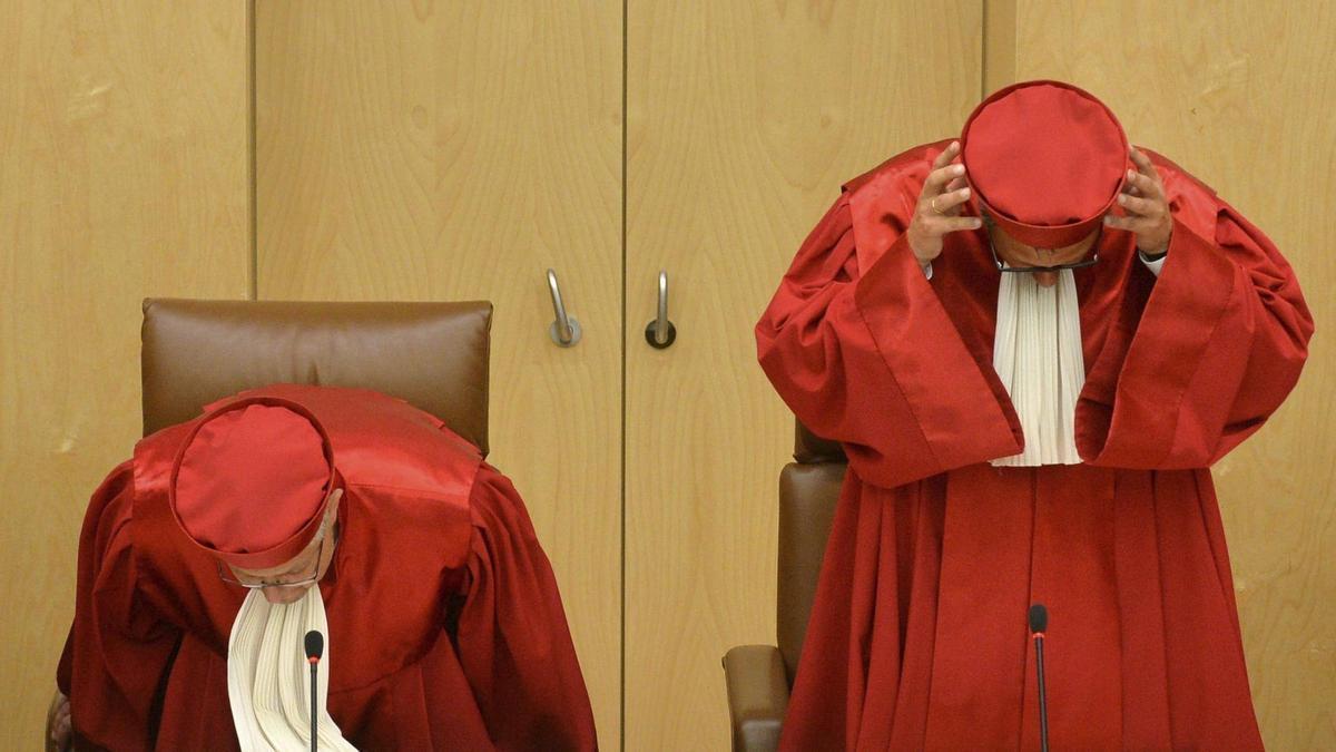 Una imagen de archivo del Tribunal Constitucional alemán.