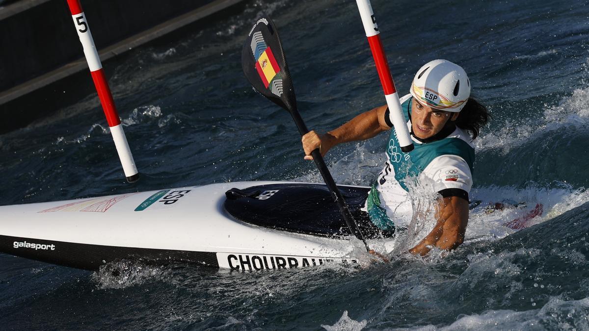 Maialen Chourraut aspira a una medalla en piragüismo.