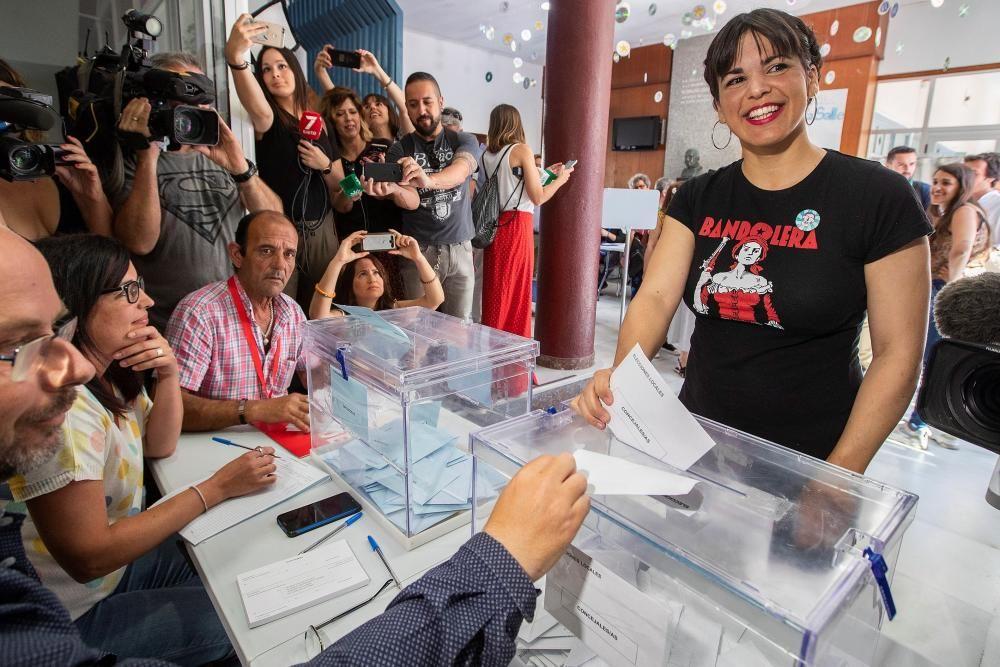 Teresa Rodríguez espera que ningún voto de la ...