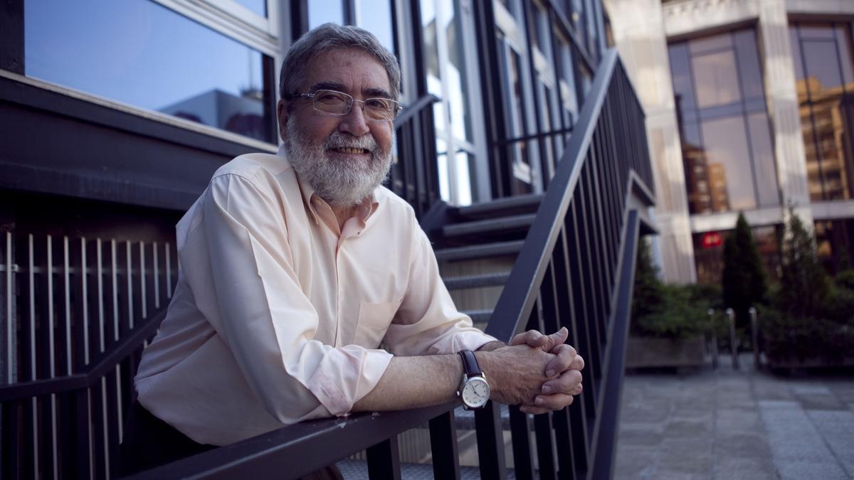 El urbanista Pedro Blanco Álvarez, en 2014.