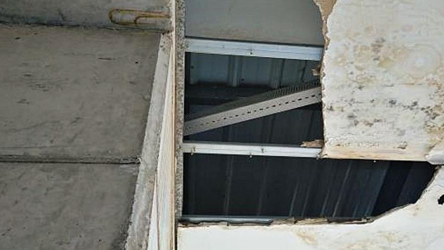 Vila-real repara en solo seis años 1.100 agujeros del techo del CTD