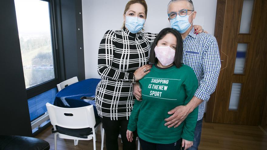 """El motivador mensaje de una niña de Oviedo con cáncer a quienes se enfrentan a la enfermedad: """"No importa caer, levántate"""""""